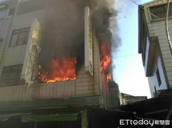 台南柳營區民宅火警 89歲行動不便老婦人逃生不及命喪火窟