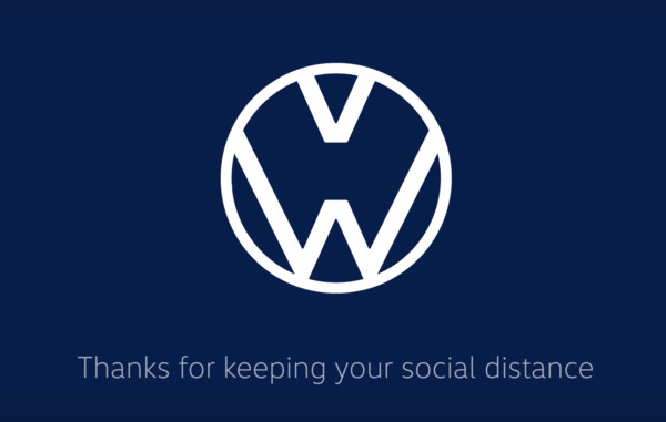 ▲福斯趣味广告宣导防疫。(图/翻摄自Youtube/Volkswagen)