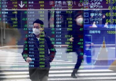 韓、日股跌幅逾1.5%!亞洲股市全面走低