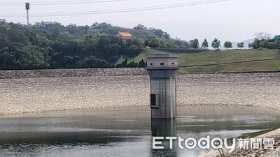 德基、寶二及永和山水庫蓄水率不到5% 昨日累積降雨量不到2毫米