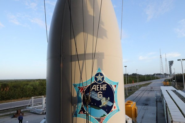 ▲AEHF6。(圖/翻攝自 United Launch Alliance photo)