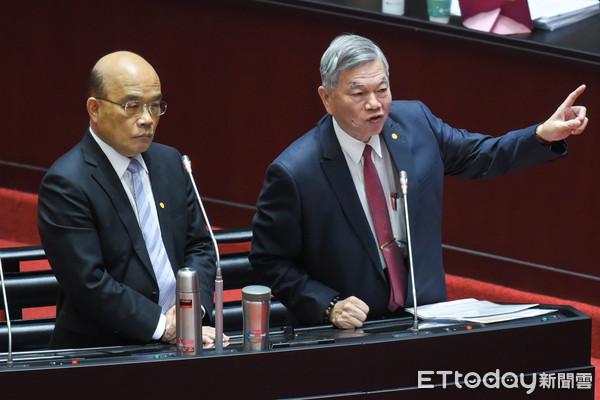 鄭正鈐要求承諾「核四燃料棒不會送國外」 蘇貞昌:你先問問侯友宜