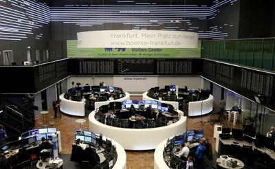 通膨恐懼加深!歐股早盤下跌 英、德股市重挫逾2%