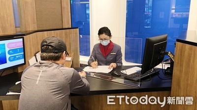 華航落實社交距離 營業櫃台四月起加裝防護隔板防疫