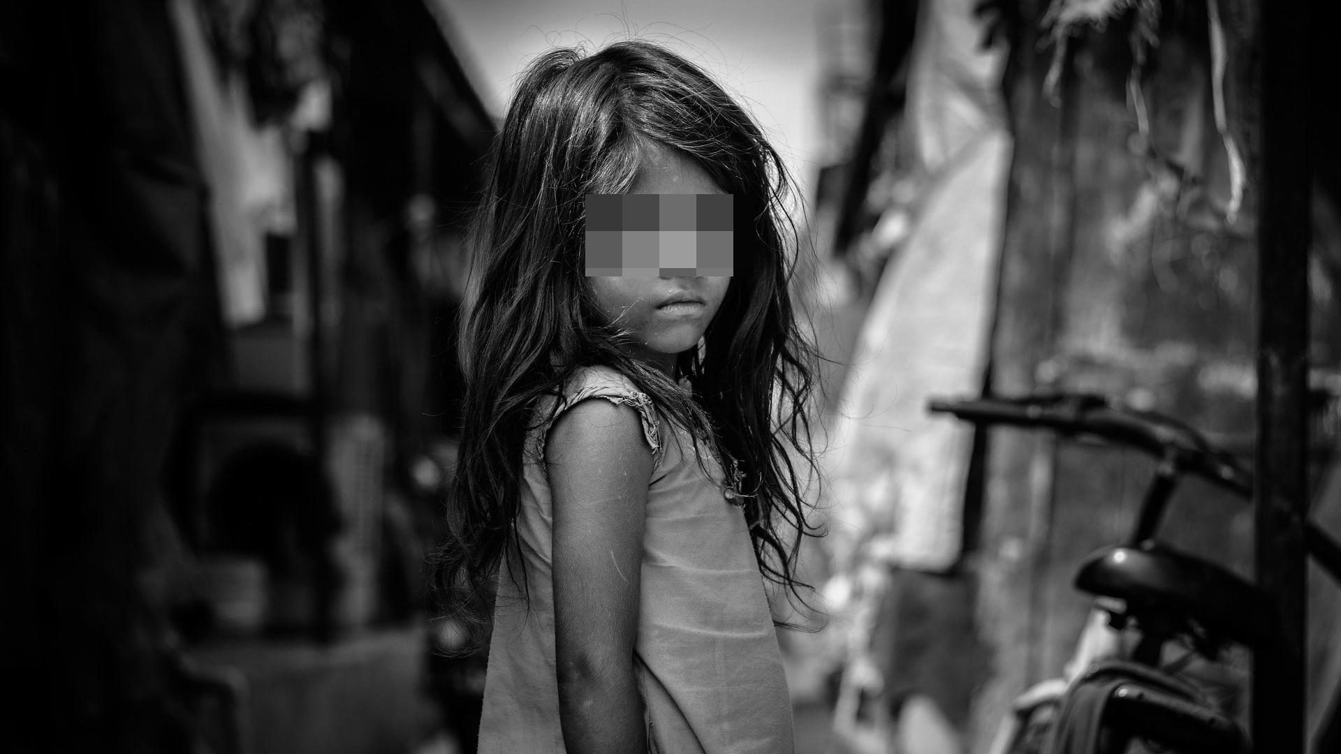 ▲▼貧民窟,女孩,女,小孩。(圖/取自免費圖庫Pixabay)