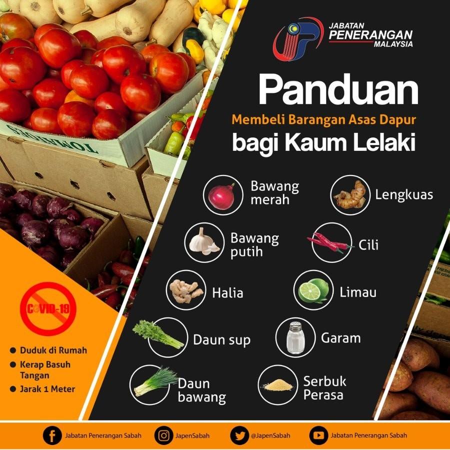 ▲馬來西亞蔬果宣傳海報。(圖/翻攝自推特/JapenSabah)