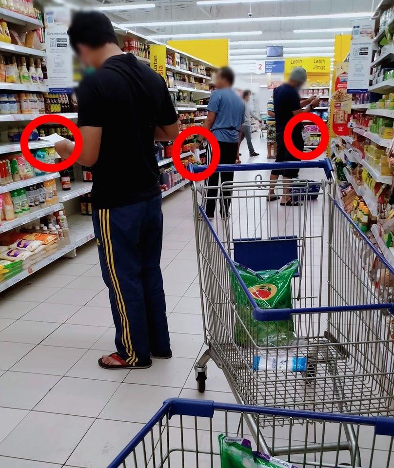 ▲馬來西亞超市。(圖/翻攝自臉書/Muzaffar Rahman)