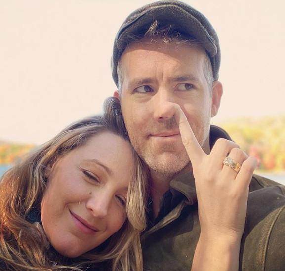 ▲▼萊恩與布蕾克夫婦。(圖/翻攝自Instagram/blakelively)