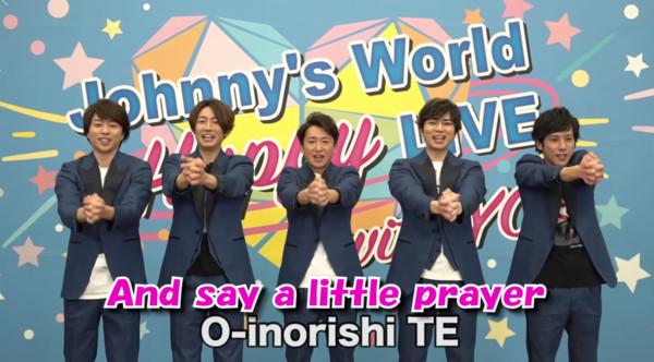 傑尼斯男團ARASHI 也推出洗手歌。(翻攝自影片)