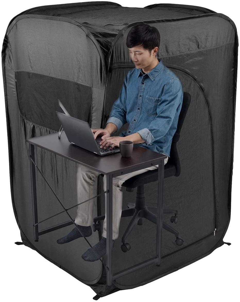 ▲▼個人辦公室帳篷。(圖/翻攝自amazon)