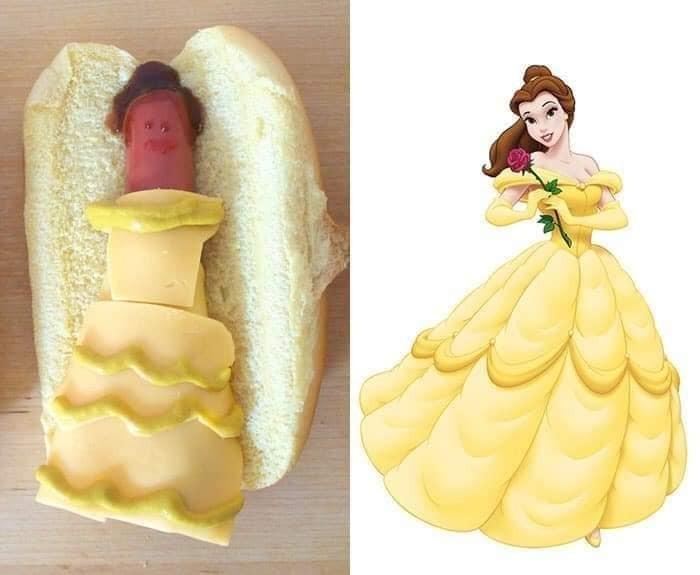 ▲▼迪士尼公主大亨堡(圖/翻攝自Facebook/Messy Jesse)