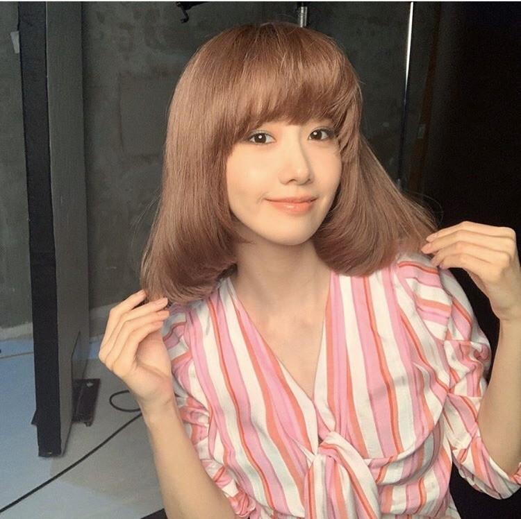 ▲潤娥短髮。(圖/翻攝自IG)