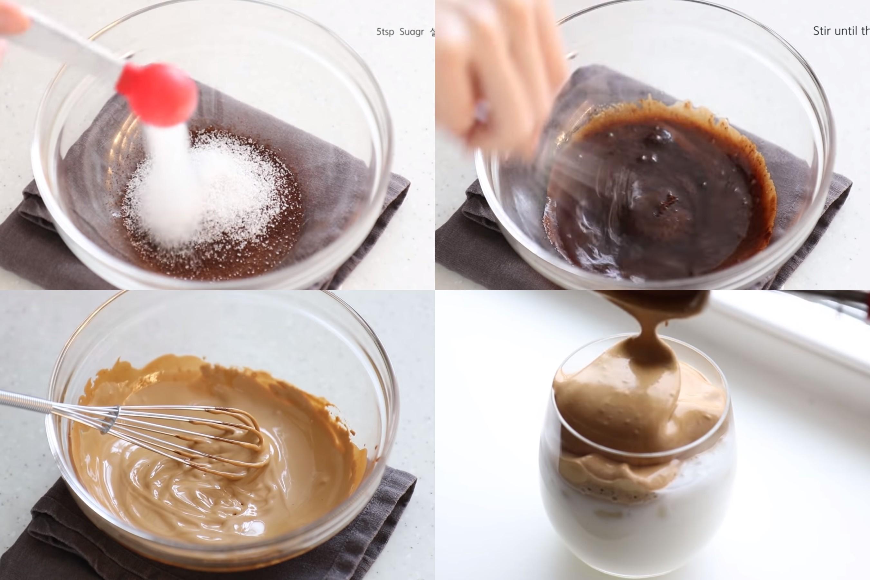 ▲▼ 韓國風靡「400次手打咖啡」。(圖/翻攝自Youtube/자도르J`adore)