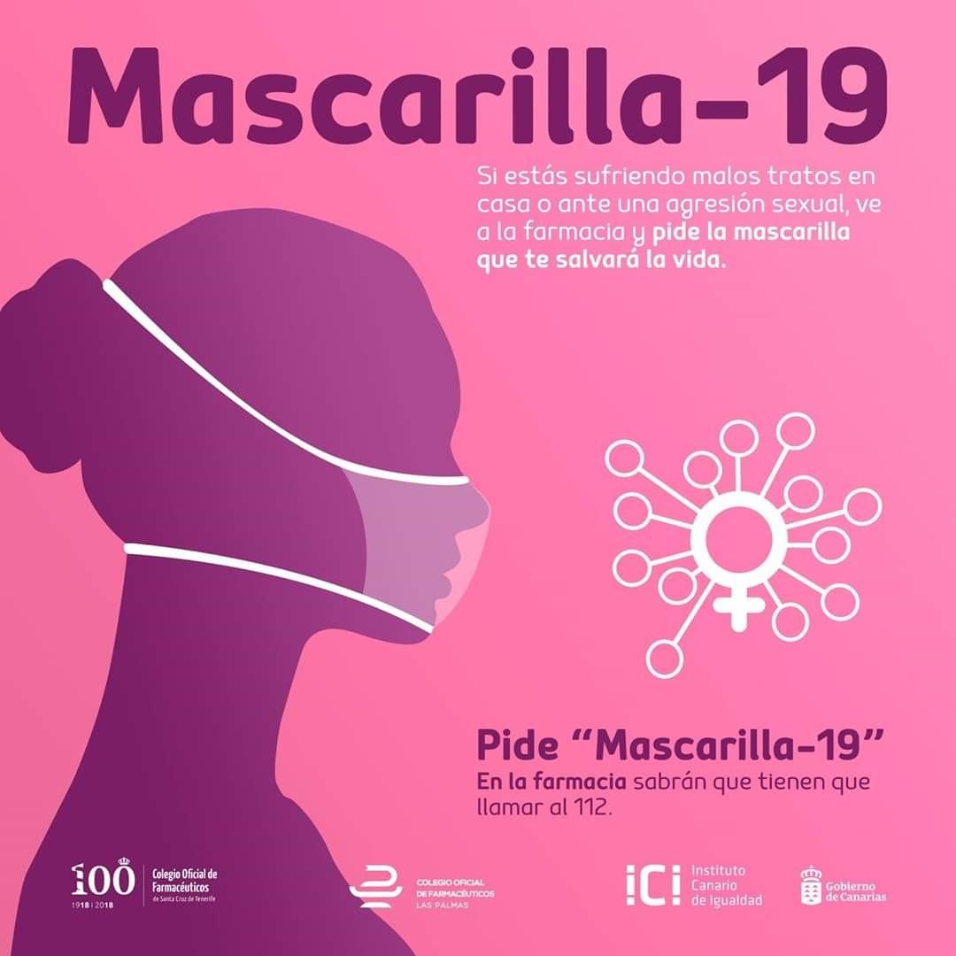 ▲▼西班牙平等協會發起「Mascarilla-19」活動。(圖/翻攝自Twitter/DiversasLGBTI)