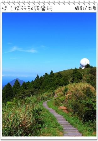 ▲▼五分山登山步道。(圖/肉魯 走遍全台灣環遊全世界提供)