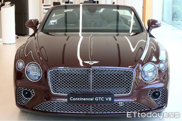 ▲1180萬起!賓利「Continental GT V8」跑車抵台 敞篷版同步開賣。(圖/記者張慶輝攝)