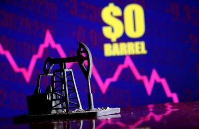 西德州原油驚見負油價 經濟部能源局:非正常現象