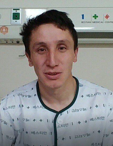 ▲▼救出10多名公寓住戶的哈薩克籍非法移工阿里(圖/居民張宣玉提供)