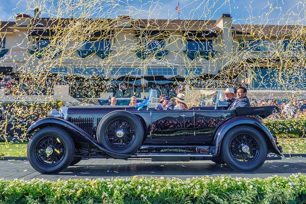 ▲圓石灘2019 Best of Show winner:1931 Bentley 8 Litre Gurney Nutting Sports Tourer。(圖/翻攝Pebble Beach Concours d`Elegance)