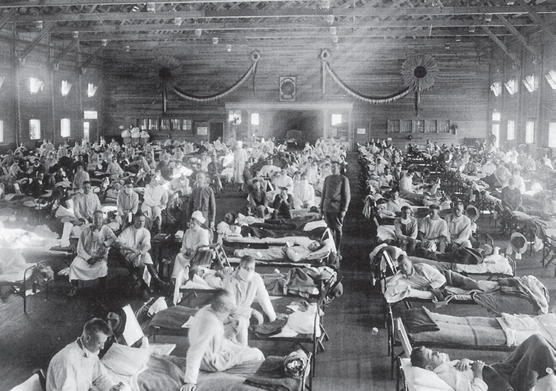 圖/西班牙大流感/維基百科