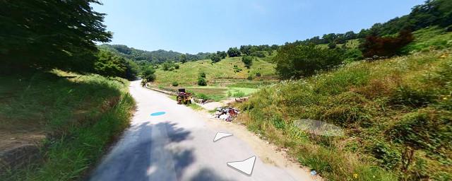 ▲▼南韓全州孝子公園公墓(圖/翻攝自Naver地圖街景)