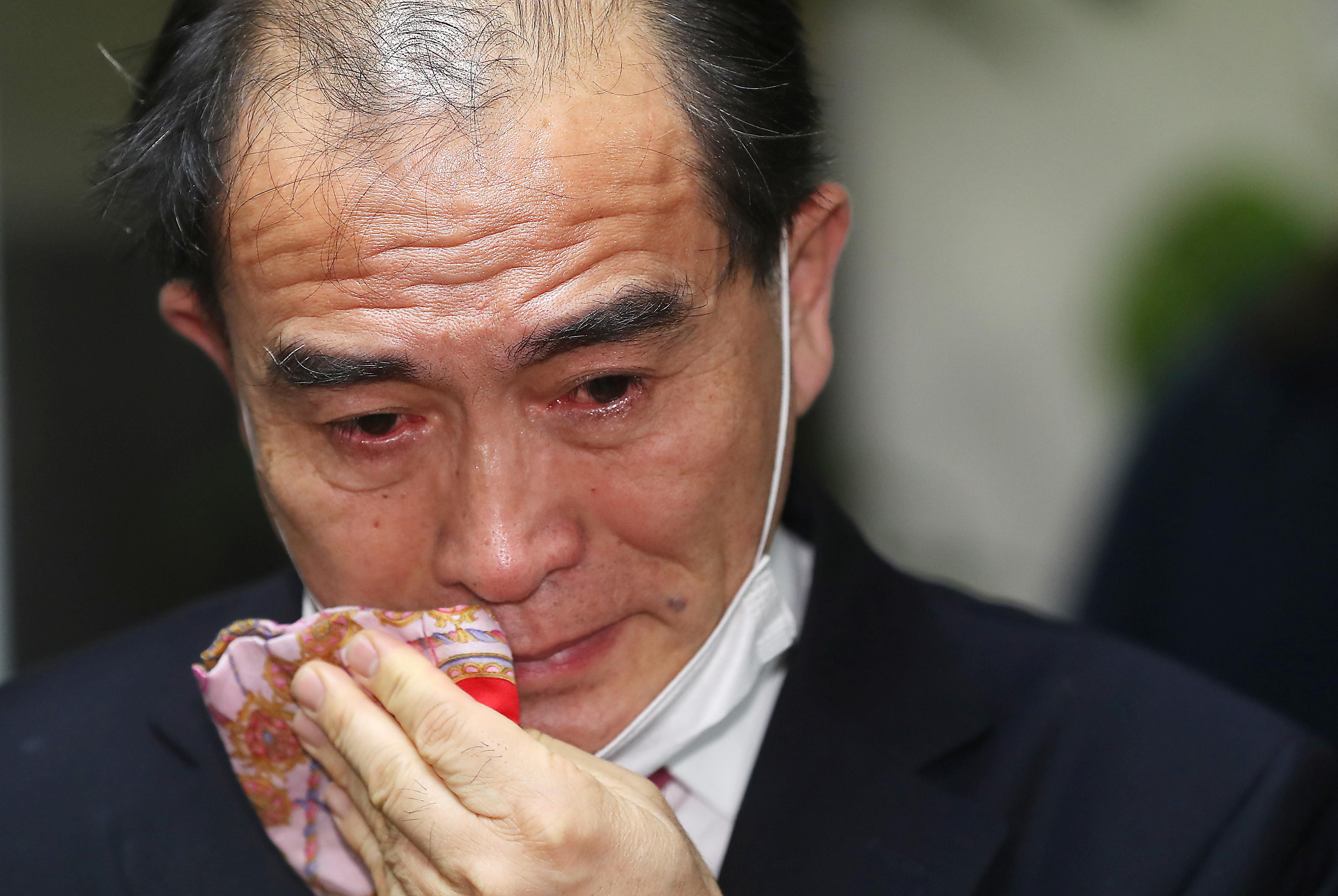 ▲▼當選南韓國會議員的脫北者,太救民(圖/路透社)