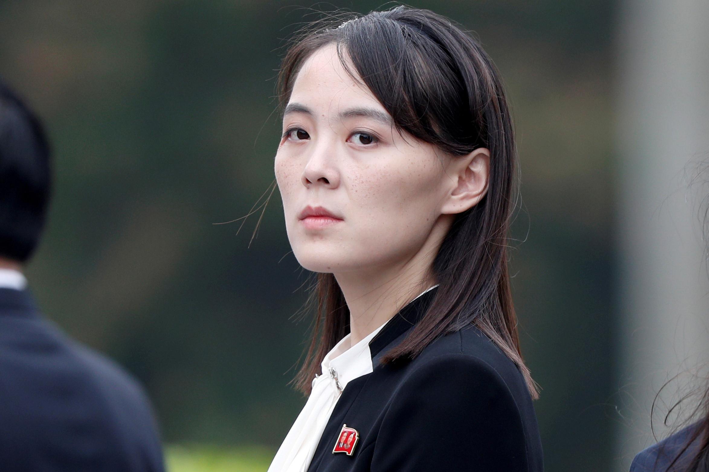 ▲▼北韓,朝鮮,金與正,勞動黨(圖/路透社)