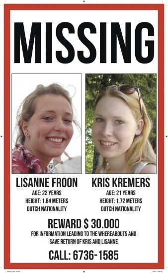 ▲▼Kris Kremers、Lisanne Froon失蹤案(圖/Imgur)