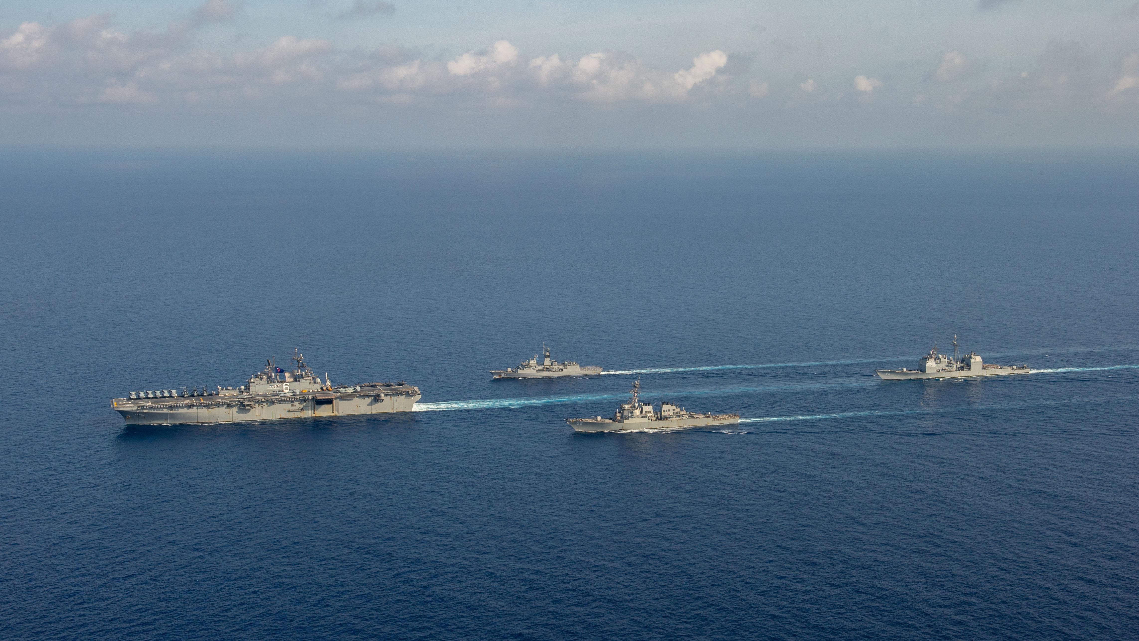 美國,中國,台灣,登陸戰,區域安全,晶片,科技戰,霸權,海權,解放軍