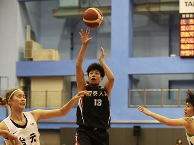 WSBL/陳鈺君飆19分領軍 國泰無懸念封后冠軍10連霸
