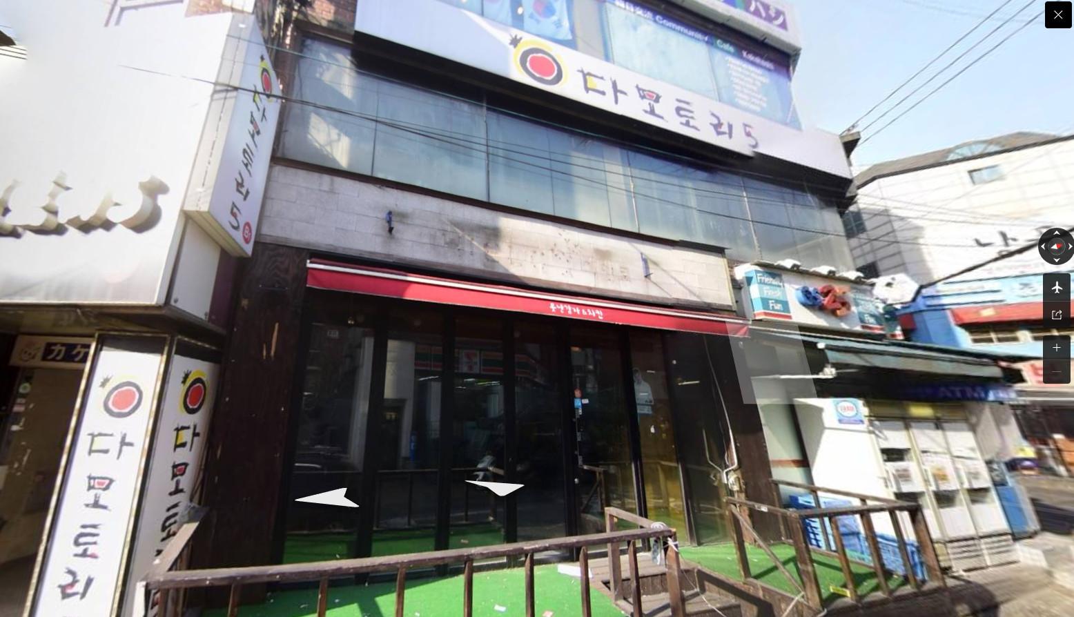 ▲▼3名拜訪梨泰院gay吧的外國人,隔日前往新村的酒吧다모토리5(圖/翻攝自Naver地圖街景)