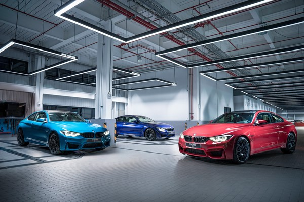 ▲BMW M4 Edition ///M Heritage。(圖/翻攝自BMW)