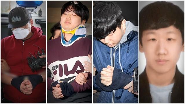 ▲▼南韓N號房性剝削事件「四人幫」。(圖/資料照/達志影像)