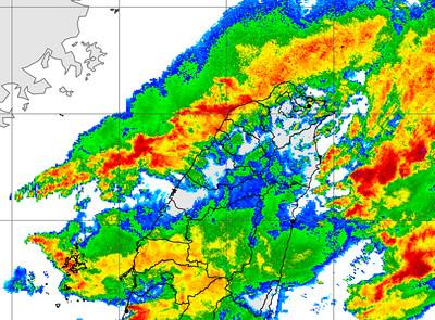 雨彈襲擊一波波 水利署:桃園已達一級淹水警戒