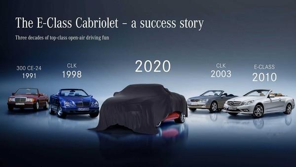▲賓士預告E-Class Coupe、Convertible 5/27發表。(圖/翻攝自Mercedes-Benz)