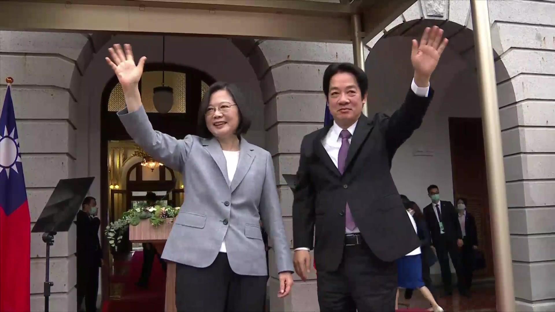 ▲▼總統就職典禮,蔡英文、賴清德。(圖/ETtoday攝影中心攝)