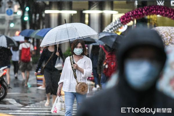 18日雨勢再次明顯!東北風挾水氣連灌一週 4大降雨熱區一次看懂