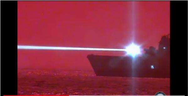 美軍太平洋成功試射雷射武器 「150瓩光束」輸出無人機起火墜落