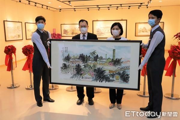 警界儒將─蔡俊章博士返鄉辦展 分享筆墨下的雲林之美