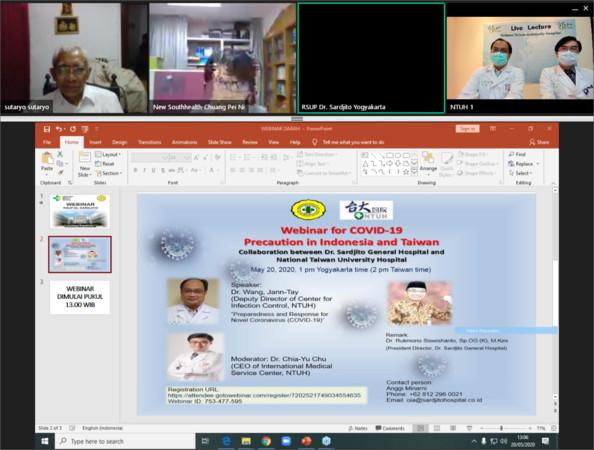 防疫經驗新南向!印尼邀台大醫院視訊分享 當地醫師最好奇「這兩點」