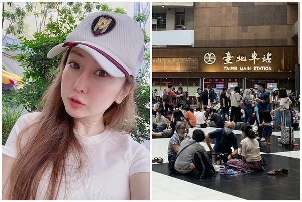 500人坐爆台北車站大廳! T妹傻眼「以為只有嬰幼兒會鬧脾氣」:吃飽太閒?