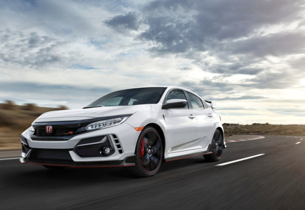 ▲2020 Honda Civic Type R。(圖/翻攝自Honda)