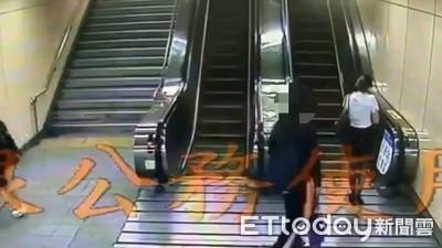 工程師「黑屏」北捷手扶梯偷拍!緊黏窄裙黑絲OL 外送員吼「你拍什麼」秒壓制