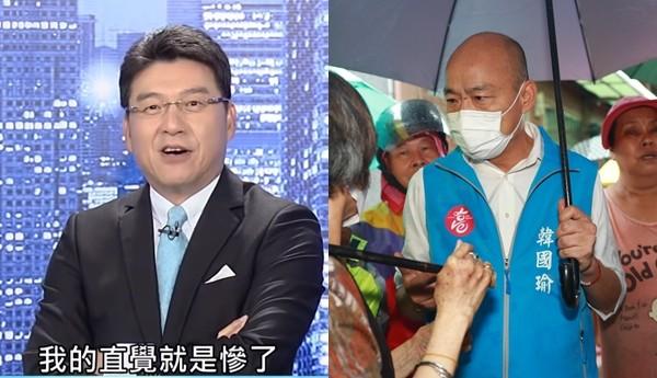 韓國瑜稱「放棄休假」視察高雄豪雨 謝震武一聽驚呼:慘了!