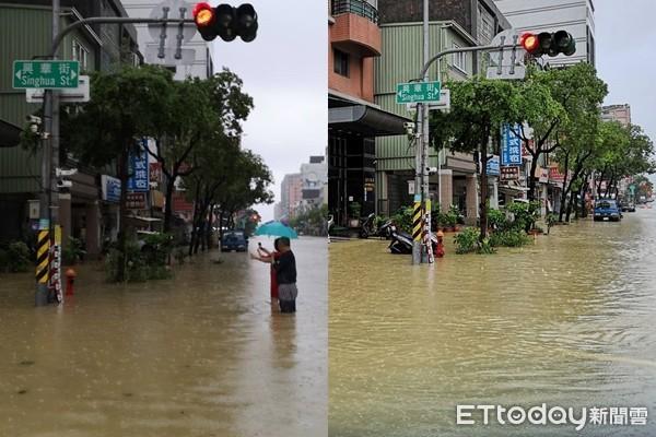 大雨強襲高雄4地6天淹2次!韓國瑜視察七賢截流站 開出治水良方...說話了