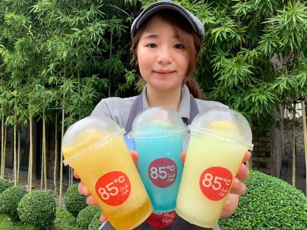 ▲夏日時尚冰沙。(圖/85度C、微風廣場、日出茶太提供)