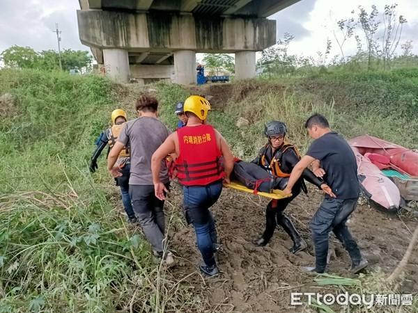 屏東萬巒大橋下2男相約抓魚 大雨狂下1人跌落水!5小時尋獲已成遺體