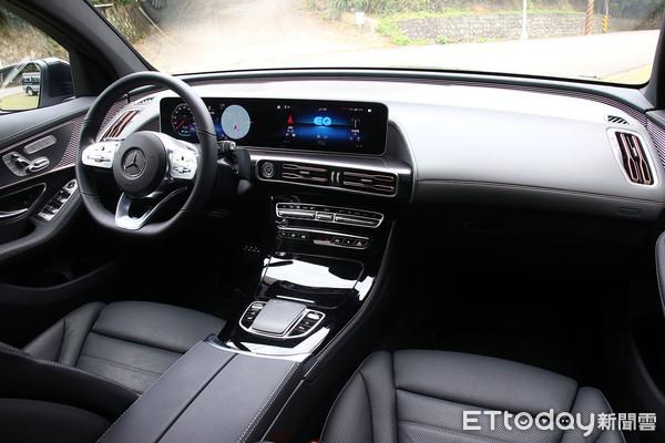 ▲宾士EQC 400 4MATIC运动版试驾 第1次开电动车也能即刻上手。(图/记者张庆辉摄)