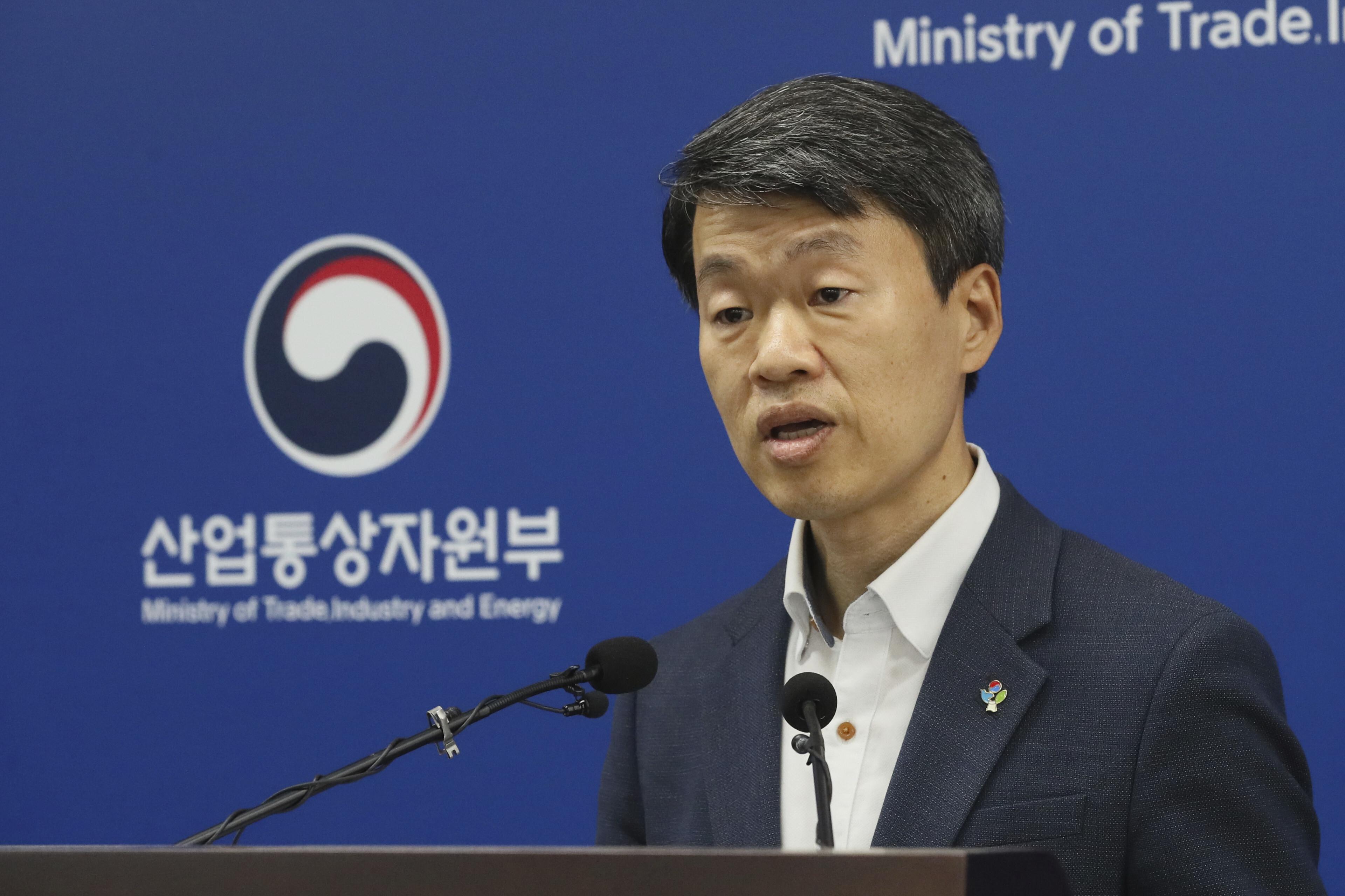 ▲▼南韓政府決議重啟WTO訴訟,希望日本停止對韓出口限制(圖/達志影像/美聯社)
