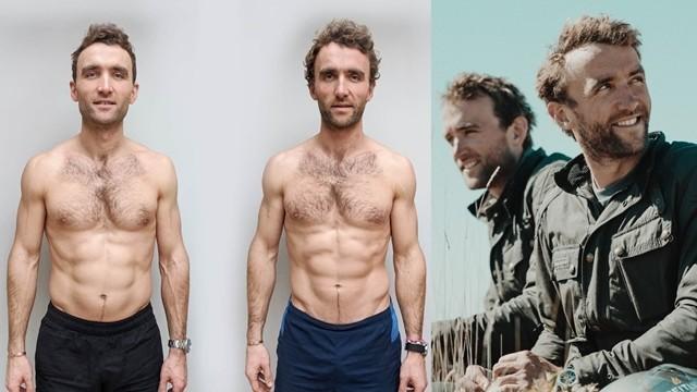 ▲▼英國知名探險家雙胞胎進行飲食挑戰。(圖/翻攝自Facebook/The Turner Twins)